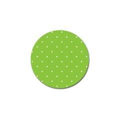 Mages Pinterest Green White Polka Dots Crafting Circle Golf Ball Marker by Alisyart