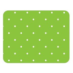 Mages Pinterest Green White Polka Dots Crafting Circle Double Sided Flano Blanket (large)  by Alisyart