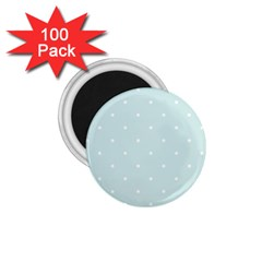 Mages Pinterest White Blue Polka Dots Crafting  Circle 1 75  Magnets (100 Pack)  by Alisyart
