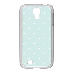 Mages Pinterest White Blue Polka Dots Crafting  Circle Samsung Galaxy S4 I9500/ I9505 Case (white) by Alisyart