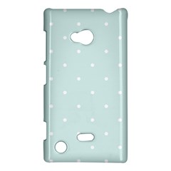 Mages Pinterest White Blue Polka Dots Crafting  Circle Nokia Lumia 720 by Alisyart