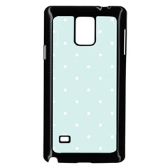 Mages Pinterest White Blue Polka Dots Crafting  Circle Samsung Galaxy Note 4 Case (black) by Alisyart