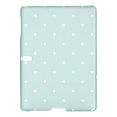 Mages Pinterest White Blue Polka Dots Crafting  Circle Samsung Galaxy Tab S (10 5 ) Hardshell Case  by Alisyart