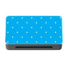 Mages Pinterest White Blue Polka Dots Crafting Circle Memory Card Reader With Cf by Alisyart