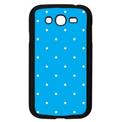 Mages Pinterest White Blue Polka Dots Crafting Circle Samsung Galaxy Grand Duos I9082 Case (black) by Alisyart