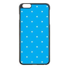 Mages Pinterest White Blue Polka Dots Crafting Circle Apple Iphone 6 Plus/6s Plus Black Enamel Case by Alisyart