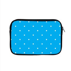 Mages Pinterest White Blue Polka Dots Crafting Circle Apple Macbook Pro 15  Zipper Case by Alisyart