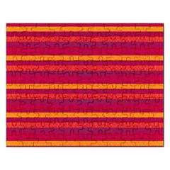Lines Rectangular Jigsaw Puzzl by Valentinaart