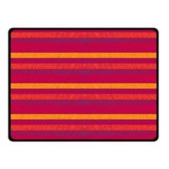 Lines Fleece Blanket (small) by Valentinaart