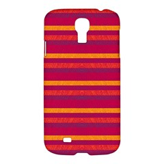 Lines Samsung Galaxy S4 I9500/i9505 Hardshell Case by Valentinaart