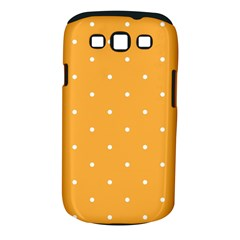 Mages Pinterest White Orange Polka Dots Crafting Samsung Galaxy S Iii Classic Hardshell Case (pc+silicone)