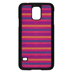 Lines Samsung Galaxy S5 Case (black) by Valentinaart