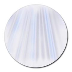 Layer Light Rays Purple Blue Round Mousepads by Alisyart