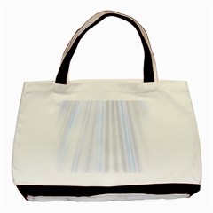 Layer Light Rays Purple Blue Basic Tote Bag by Alisyart