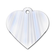 Layer Light Rays Purple Blue Dog Tag Heart (one Side) by Alisyart