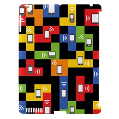 Mobile Phone Signal Color Rainbow Apple Ipad 3/4 Hardshell Case (compatible With Smart Cover) by Alisyart