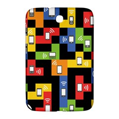 Mobile Phone Signal Color Rainbow Samsung Galaxy Note 8 0 N5100 Hardshell Case  by Alisyart