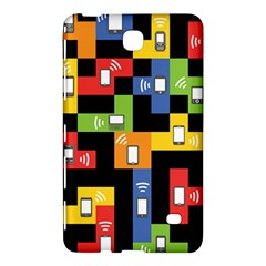 Mobile Phone Signal Color Rainbow Samsung Galaxy Tab 4 (8 ) Hardshell Case  by Alisyart
