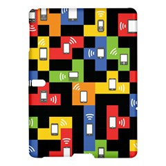 Mobile Phone Signal Color Rainbow Samsung Galaxy Tab S (10 5 ) Hardshell Case  by Alisyart