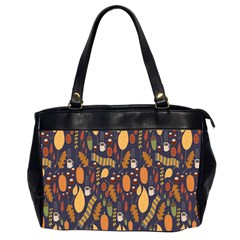 Macaroons Autumn Wallpaper Coffee Office Handbags (2 Sides)  by Alisyart