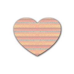 Lines Heart Coaster (4 Pack)  by Valentinaart