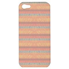 Lines Apple Iphone 5 Hardshell Case by Valentinaart