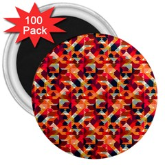 Modern Graphic 3  Magnets (100 Pack) by Alisyart
