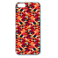Modern Graphic Apple Seamless Iphone 5 Case (color) by Alisyart