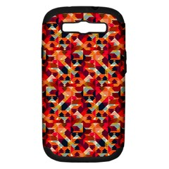 Modern Graphic Samsung Galaxy S Iii Hardshell Case (pc+silicone) by Alisyart