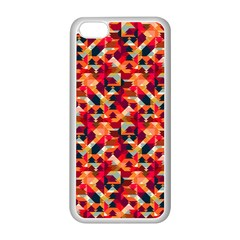 Modern Graphic Apple Iphone 5c Seamless Case (white) by Alisyart