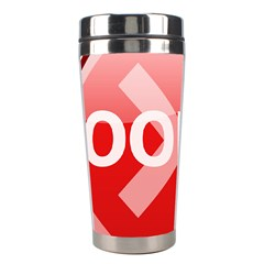 Oops Stop Sign Icon Stainless Steel Travel Tumblers by Alisyart