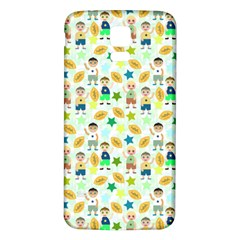Kids Football Sport Ball Star Samsung Galaxy S5 Back Case (white) by Alisyart