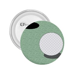 Golf Image Ball Hole Black Green 2 25  Buttons by Alisyart