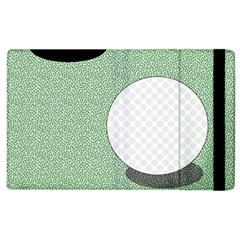 Golf Image Ball Hole Black Green Apple Ipad 2 Flip Case by Alisyart