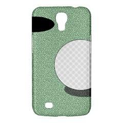 Golf Image Ball Hole Black Green Samsung Galaxy Mega 6 3  I9200 Hardshell Case by Alisyart