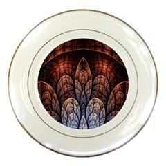 Abstract Fractal Porcelain Plates by Simbadda