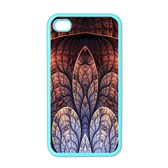 Abstract Fractal Apple Iphone 4 Case (color) by Simbadda