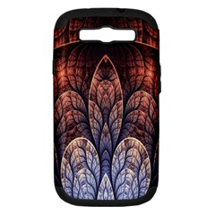Abstract Fractal Samsung Galaxy S Iii Hardshell Case (pc+silicone) by Simbadda