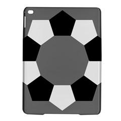 Pentagons Decagram Plain Black Gray White Triangle Ipad Air 2 Hardshell Cases by Alisyart
