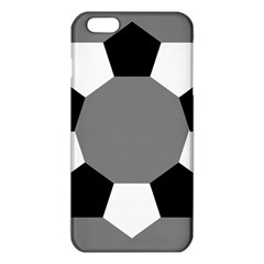 Pentagons Decagram Plain Black Gray White Triangle Iphone 6 Plus/6s Plus Tpu Case by Alisyart