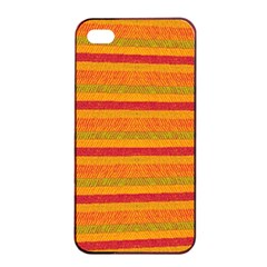 Lines Apple Iphone 4/4s Seamless Case (black) by Valentinaart