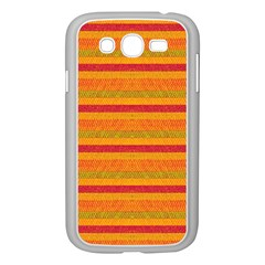 Lines Samsung Galaxy Grand Duos I9082 Case (white) by Valentinaart