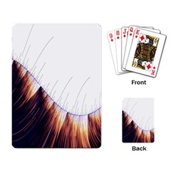 Abstract Lines Playing Card by Simbadda