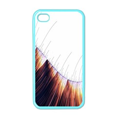 Abstract Lines Apple Iphone 4 Case (color) by Simbadda