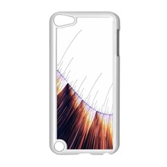 Abstract Lines Apple Ipod Touch 5 Case (white) by Simbadda