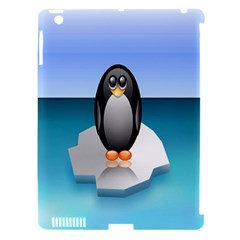 Penguin Ice Floe Minimalism Antarctic Sea Apple Ipad 3/4 Hardshell Case (compatible With Smart Cover) by Alisyart