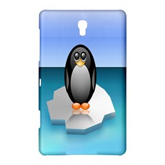 Penguin Ice Floe Minimalism Antarctic Sea Samsung Galaxy Tab S (8 4 ) Hardshell Case  by Alisyart