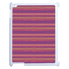 Lines Apple Ipad 2 Case (white) by Valentinaart