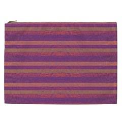 Lines Cosmetic Bag (xxl)  by Valentinaart