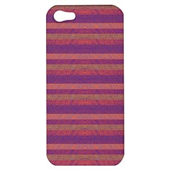 Lines Apple Iphone 5 Hardshell Case by Valentinaart